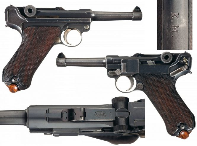 DWM Dutch Naval Luger