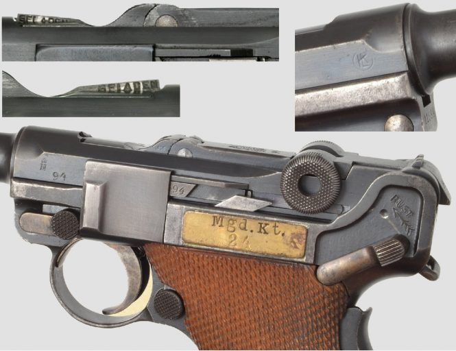 Dutch Luger DWM East Indies