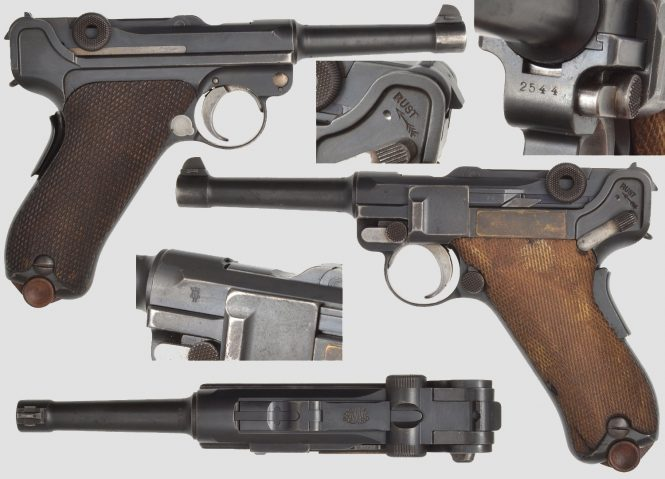 Dutch Luger M11 Pre-1914 DWM Contract