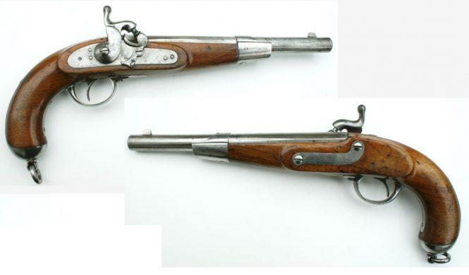 Kavalleriepistole M 1862 System Lorenz