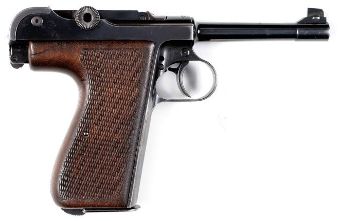Walther toggle action pistol