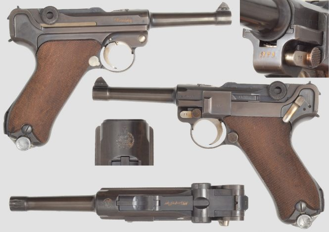 Mauser Persian Contract Luger P.08