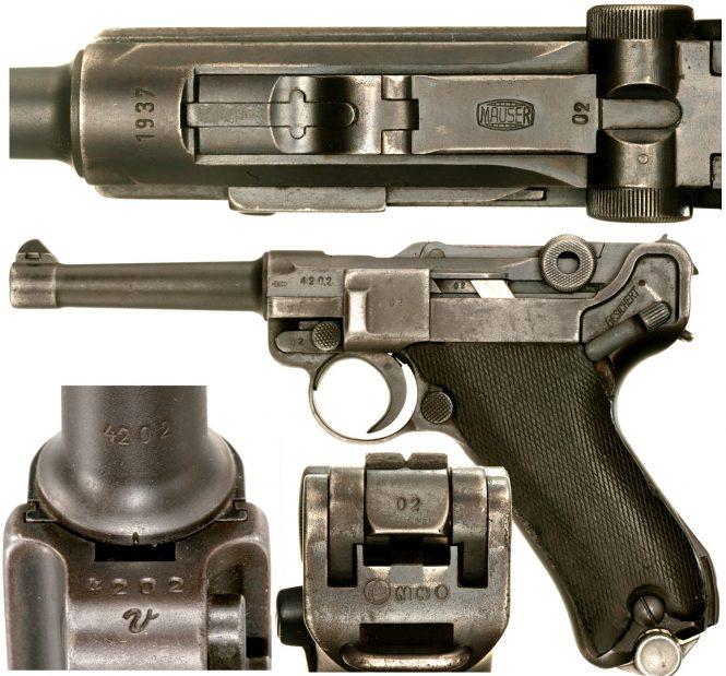Mauser Siamese Luger P.08