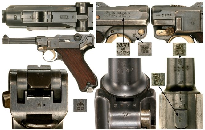 Turkish Army Luger