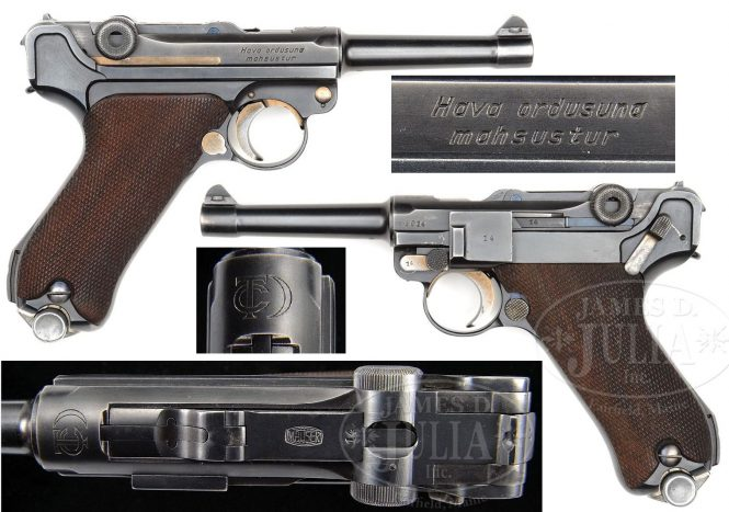 Turkish Air Force Luger
