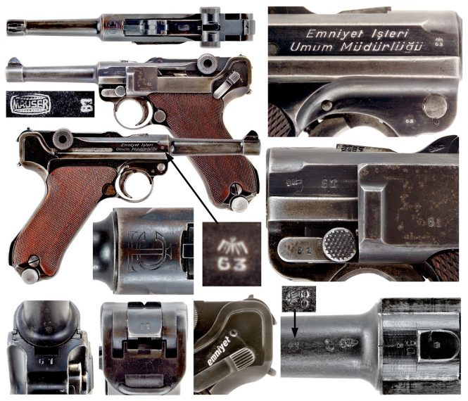 Mauser Turkish Police Luger