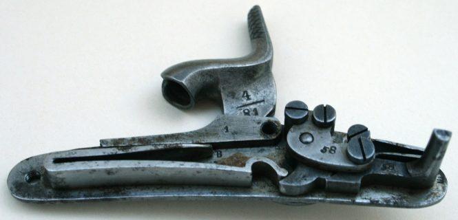 Saxon Ulanen Pistol M 1870, percussion lock