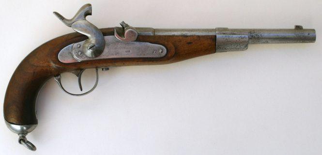 Капсюльный пистолет образца 1870 года саксонских уланов