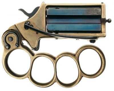 Double Shot Knuckleduster Pistol True Companion