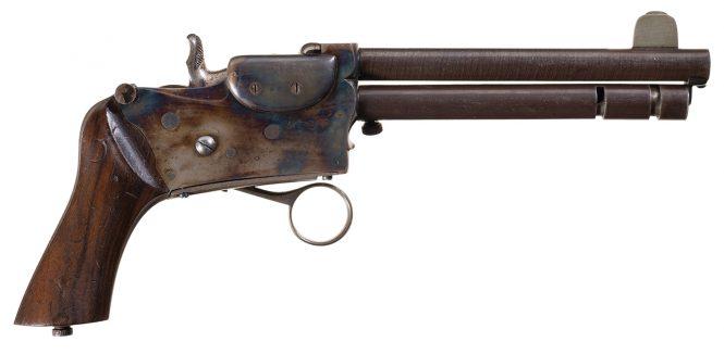 Магазинный пистолет Мариуса Бергера