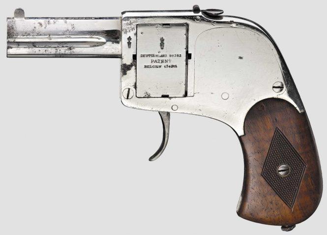 Двуствольный пистолет Бар фирмы Зауэр