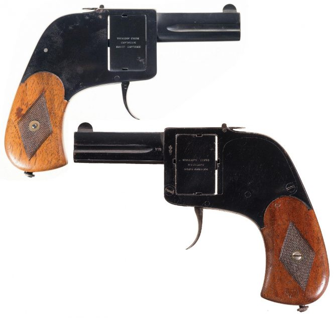 Double Barreled Sauer Bar Pistol