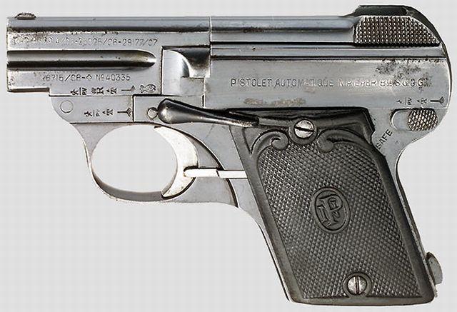 Nicolas Pieper Pistol