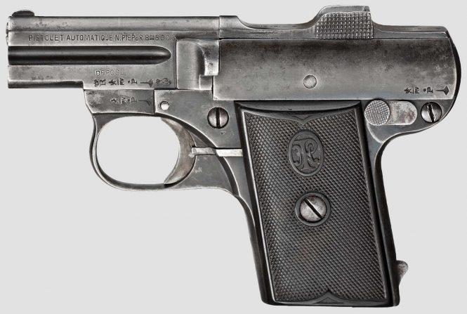 Pieper Pistol Model A 1907, 6,35 mm