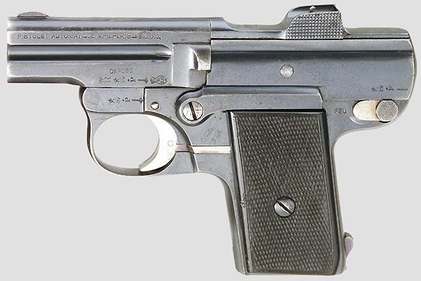 Nicolas Pieper Pistol model A