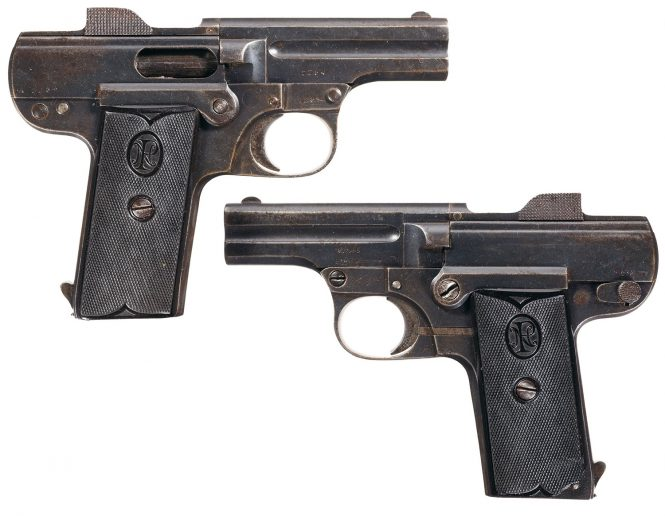 Pieper Pistol Model A 1907, 7,65 mm