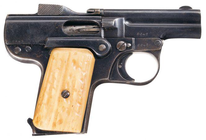 Nicolas Pieper Pistol Basculant