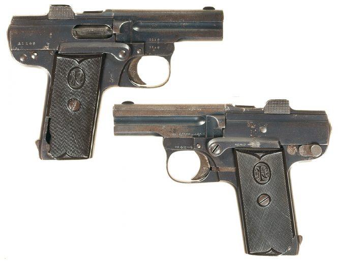 Бельгийский пистолет Николаса Пипера