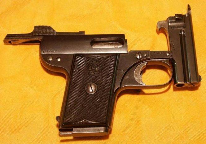 Nicolas Pieper Pistol Model C, Basculant