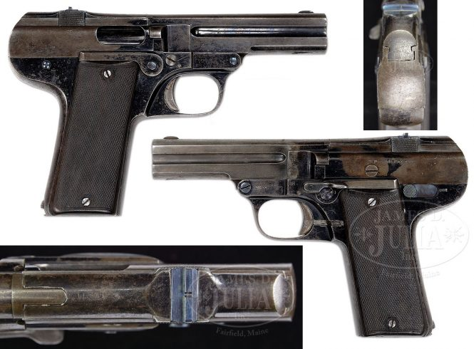 Nicolas Pieper Pistol .45