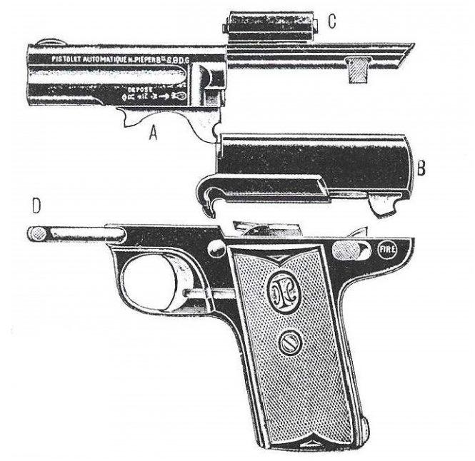 Pieper Pistol