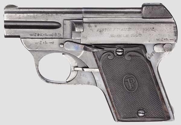 Pieper Pistol model 1920