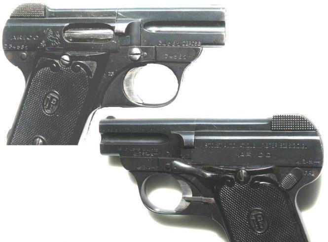 "Pieper Pistol Model ""ARICO"""
