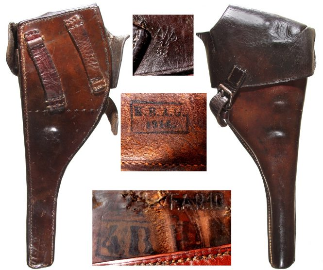 Holster for Reichsrevolver M1879