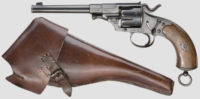 Reichsrevolver M1879 with holster
