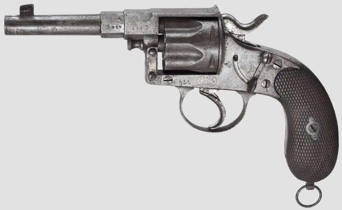 Reichsrevolver M1883 Double action