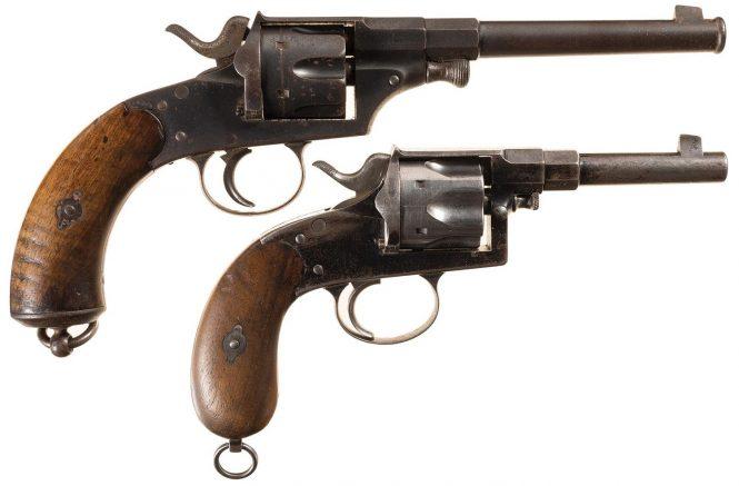Reichsrevolver M1879 and Reichsrevolver M1883