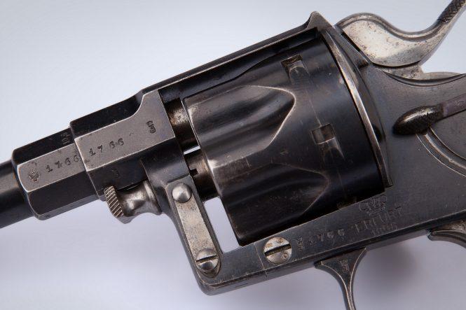 Reichsrevolver M1883 marking
