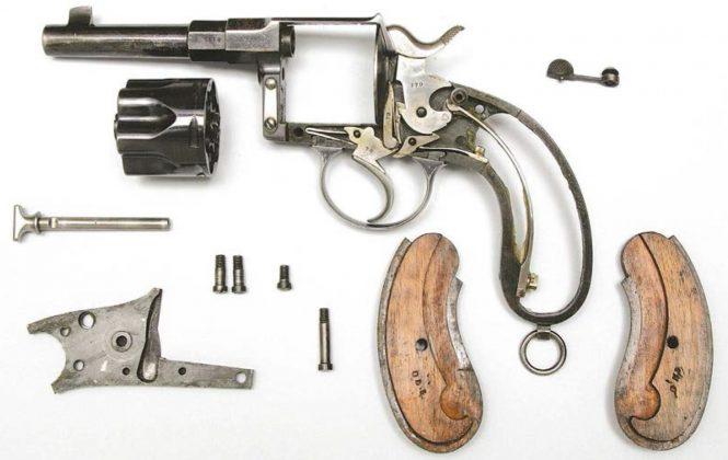 Double Action Reichsrevolver 1883