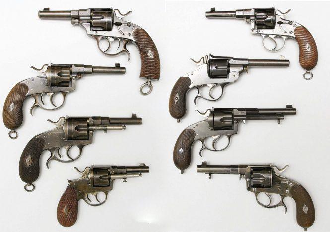 Reichsrevolver M1883 variation