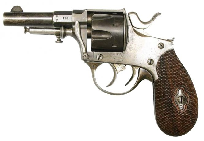 Little Draize Model 380 with double trigger and ejector