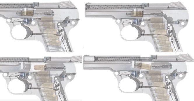 Steyr-Pieper Pistol 7.65 mm