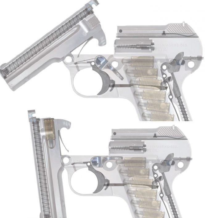 Steyr-Pieper Pistol