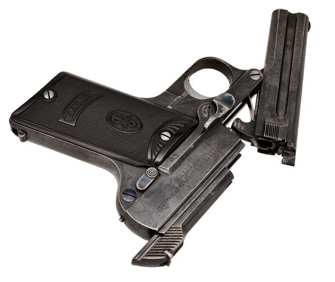 Steyr-Pieper Pistol 7.65mm