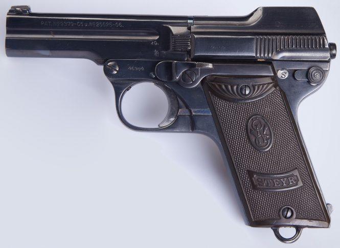 Steyr-Pieper Pistol Model 1908/34