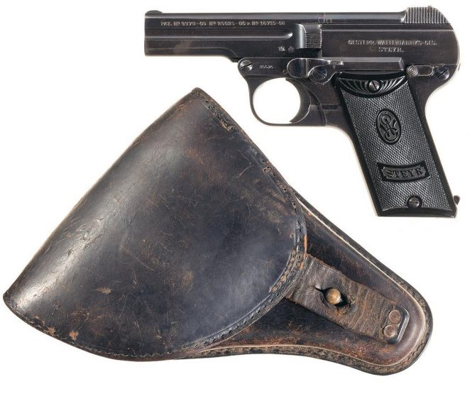 Steyr-Pieper Pistol Holster