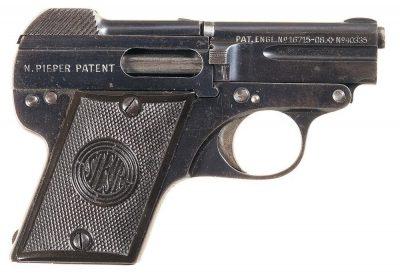 Steyr-Pieper Pistol 6,35 mm