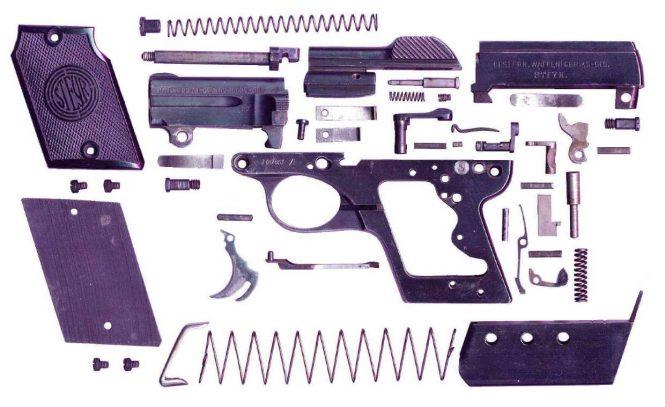 Steyr Model 1909 Pistol .25 caliber