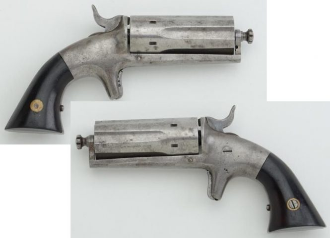Bacon Arms Co. Pepperbox Revolver
