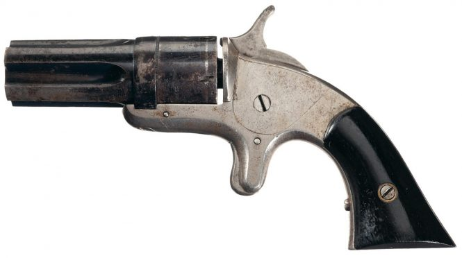 """Continental Arms Co. Pepperbox """"Ladies Companion"""""""