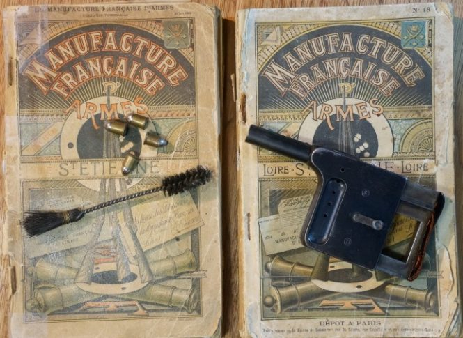 The catalogs of the Manufacture Francaise d'Armes de Saint-Etienne