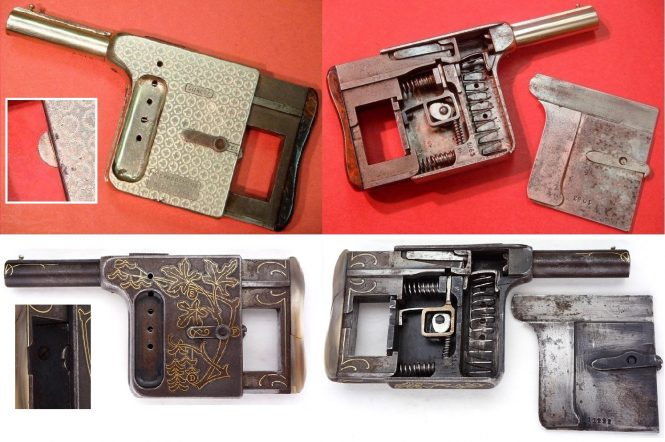 Пистолет Галюа и пистолет Митральеза