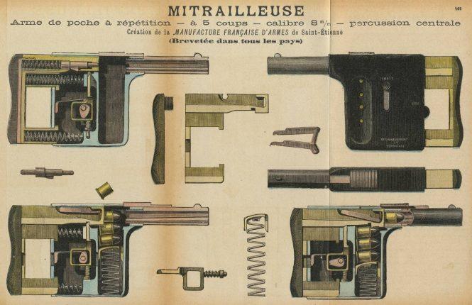 Gaulois squeezer-pistol scheme