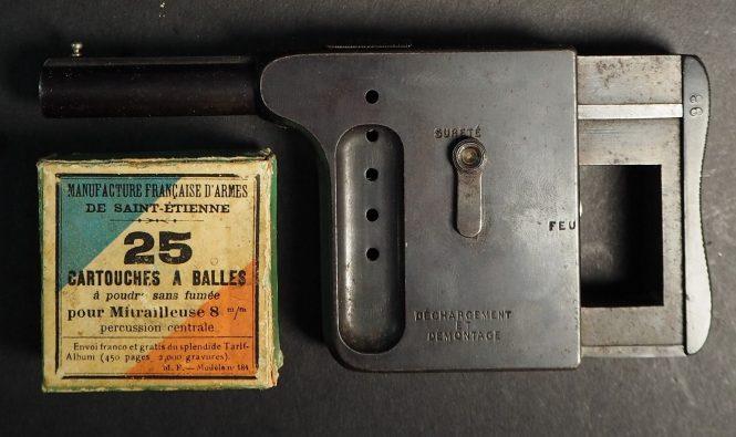 St.Etienne pistol Mitrailleuse