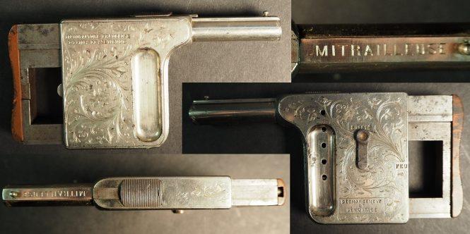 Pistolet St.Etienn Mitrailleuse