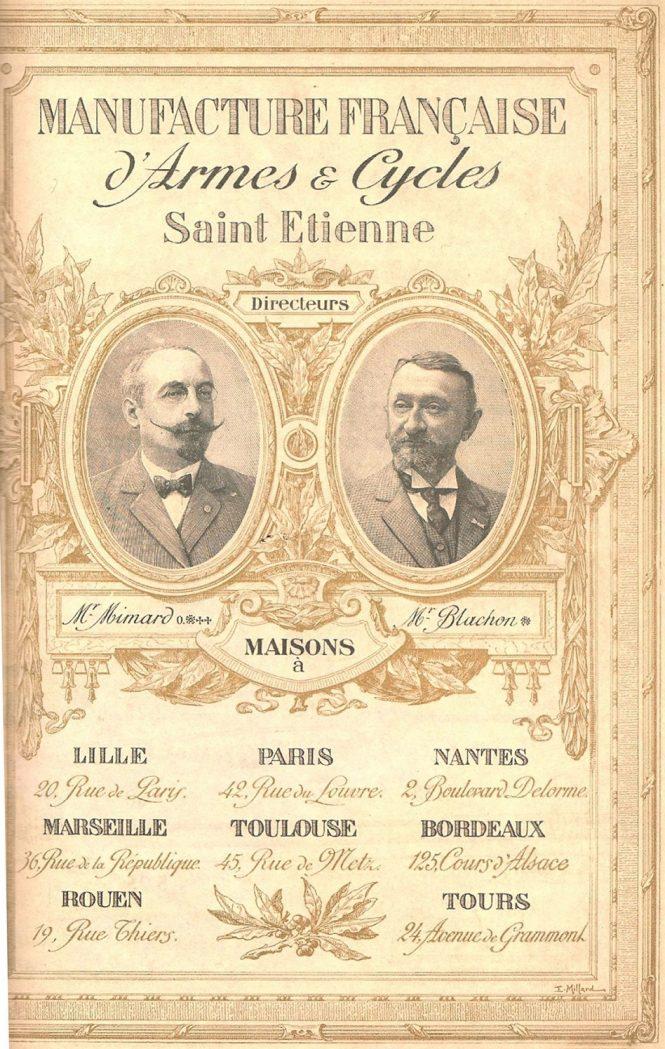Etienne Mimard, Pierre Blachon St.Etienne Gaulois pistol